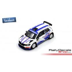 Skoda Fabia R5 - Xevi Pons - Rally Granada 2018