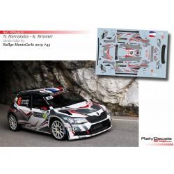 Nicolas Hernandez - Skoda Fabia R5 - Rally MonteCarlo 2019