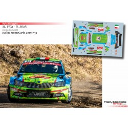 Manuel Villa - Skoda Fabia R5 - Rally MonteCarlo 2019