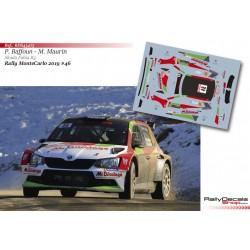Philippe Baffoun - Skoda Fabia R5 - Rally MonteCarlo 2019