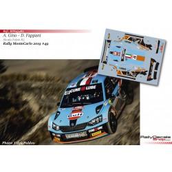 Alessandro Gino - Skoda Fabia R5 - Rally MonteCarlo 2019