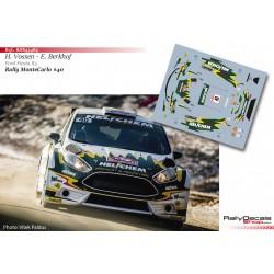 Henk Vossen - Ford Fiesta R5 - Rally Montecarlo 2019