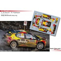 Guillaume de Mevius - Citroen C3 R5 - Rally MonteCarlo 2019