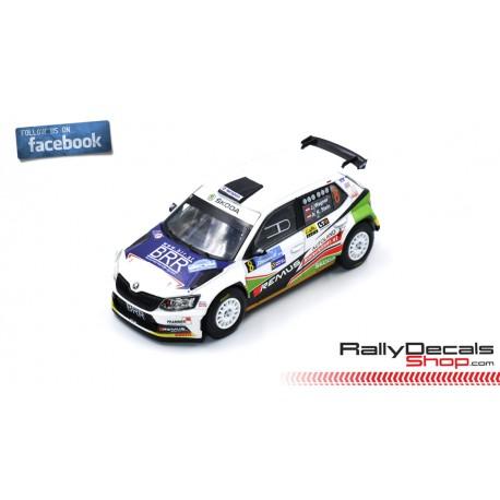 Skoda Fabia R5 - Julian Wagner - Rally Janner 2019