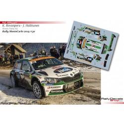 Kalle Rovanpera - Skoda Fabia R5 - Rally MonteCarlo 2019