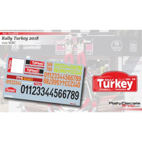 Turkey 2018 Numbers