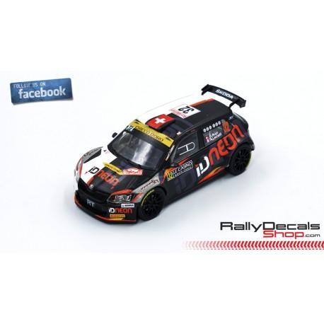 Skoda Fabia R5 - Olivier Burri - Rally MonteCarlo 2019