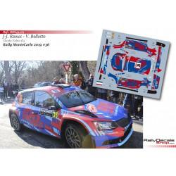 Jean Michel Raoux - Skoda Fabia R5 - Rally MonteCarlo 2019