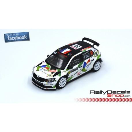 Skoda Fabia R5 - Claude Carret - Rally Montecarlo 2019