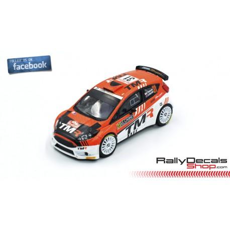 Ford Fiesta R5 - Takamoto Katsuta - Rally MonteCarlo 2019