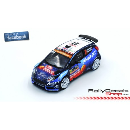Ford Fiesta R5 - Gus Greensmith - Rally MonteCarlo 2019