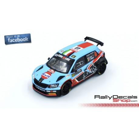Skoda Fabia R5 - Alessandro Gino - Rally Montecarlo 2019