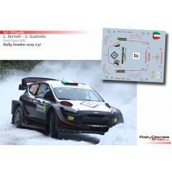 Lorenzo Bertelli - Ford Fiesta WRC - Rally Sweden 2019