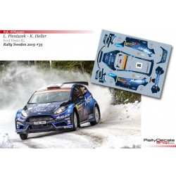 Lukasz Pieniazek - Ford Fiesta R5 - Rally Sweden 2019