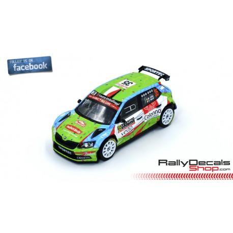 Skoda Fabia R5 - Manuel Villa - Rally Montecarlo 2019