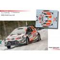 Marcus Gronholm - Toyota Yaris WRC - Rally Sweden 2019