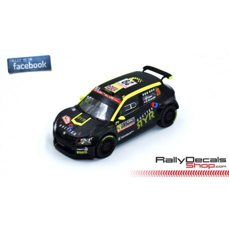 Skoda Fabia R5 - Rhys Yates - Rally Montecarlo 2019