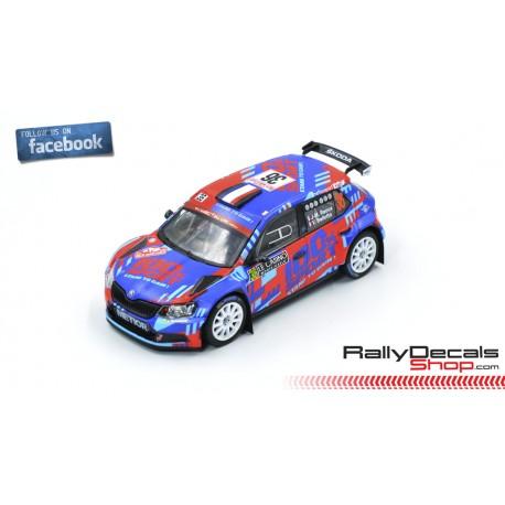 Skoda Fabia R5 - Jean Michel Raoux - Rally Montecarlo 2019