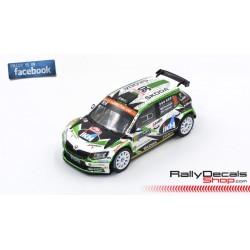 Skoda Fabia R5 - Kalle Rovanpera - Rally Montecarlo 2019