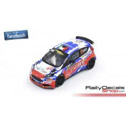 Ford Fiesta R5 - Matteo Gamba - Rally MonteCarlo 2019