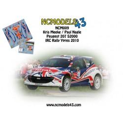 Kris Meeke - Peugeot 207 S2000 - Rally Ypres 2010