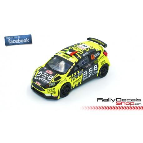 Ford Fiesta R5 - Davide Riccio - Rally MonteCarlo 2019