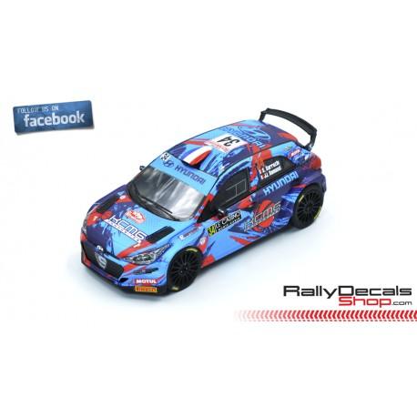 Hyundai i20 R5 - Stephane Sarrazin - Rally MonteCarlo 2019