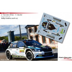Johan Van den Dries - Skoda Fabia R5 - Rally Condroz 2018