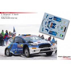 Emil Bergkvist - Ford Fiesta R5 - Rally Sweden 2019