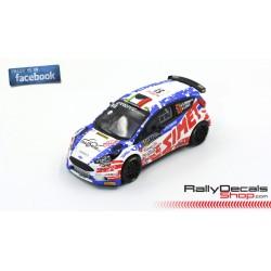 Ford Fiesta R5 - Claudio Marenco - Rally MonteCarlo 2019