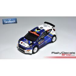 Ford Fiesta R5 - Emil Bergkvist - Rally Sweden 2019
