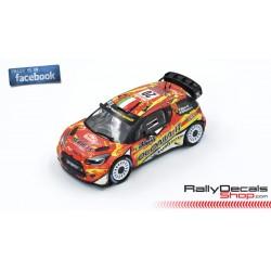 Citroen DS3 WRC - Mauro Miele - Rally MonteCarlo 2019