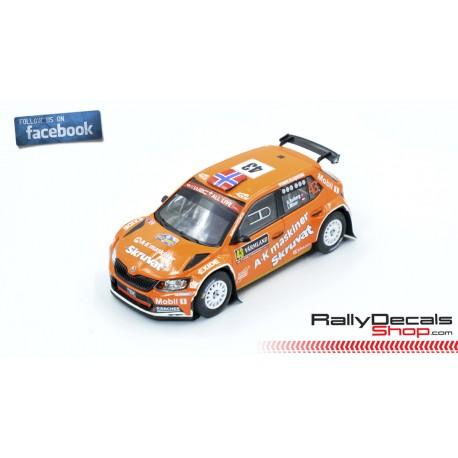 Skoda Fabia R5 - Henning Solberg - Rally Sweden 2019