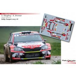 Eric Mauffrey - Skoda Fabia R5 - Rally Touquet 2019