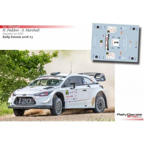 Hayden Paddon - Hyundai i20 WRC - Rally Estonia 2018