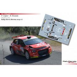Pepe López - Citroen C3 R5 - Rally Sierra Morena 2019
