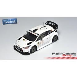 Hyundai i20 WRC - Hayden Paddon - Rally Estonia 2018