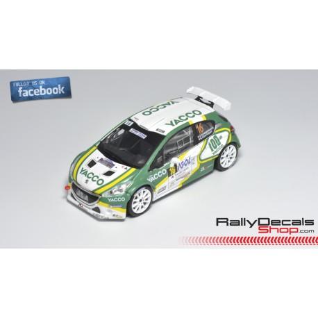 Peugeot 208 R5 - Sébastien Dommerdich - Rally Touquet 2019