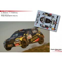 Sébastien Bedoret - Skoda Fabia R5 - Rally Haspengouw 2019