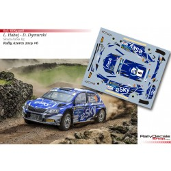 Lukasz Habaj - Skoda Fabia R5 - Rally Azores 2019