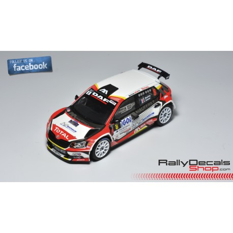 Skoda Fabia R5 - Eric Mauffrey - Rally Touquet 2019