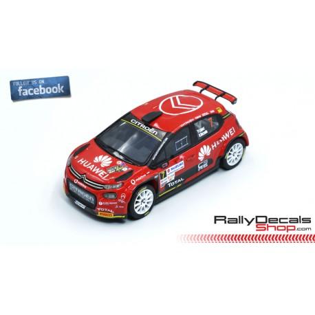 Citroen C3 R5 - Pepe López - Rally Sierra Morena 2019