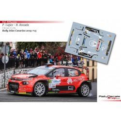 Pepe Lopez - Citroen C3 R5 - Rally Islas Canarias 2019