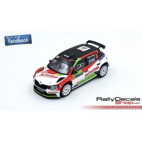 Skoda Fabia R5 - Philippe Baffoun - Rally Montecarlo 2019