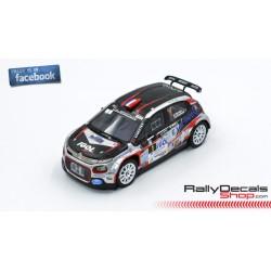 Citroen C3 R5 - Yoann Bonato - Rally Touquet 2019