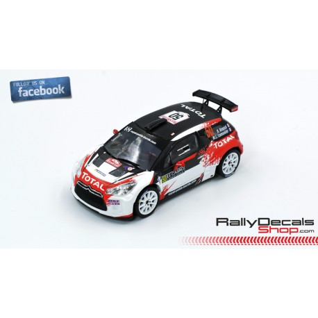 Citroen DS3 R5 - Hervé Knapick - Rally MonteCarlo 2019
