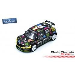 Skoda Fabia R5 - Silvano Patera - Rally MonteCarlo 2019