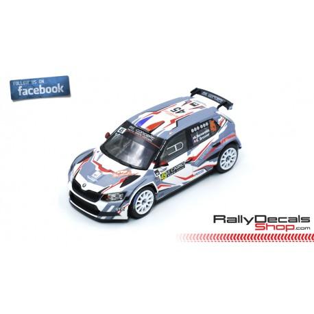 Skoda Fabia R5 - Nicolas Hernandez - Rally MonteCarlo 2019
