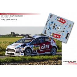Bert Coene - Ford Fiesta R5 - Rally Ypres 2019