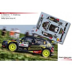 Sébastien Bedoret - Skoda Fabia R5 - Rally Ypres 2019